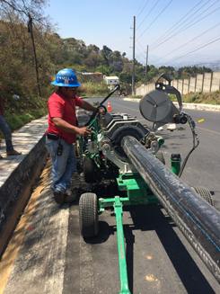 hdpe pipe instalation